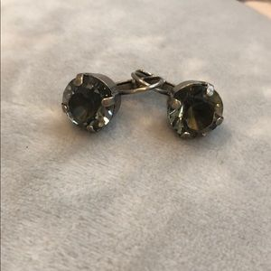 Sabika Black diamond earrings.